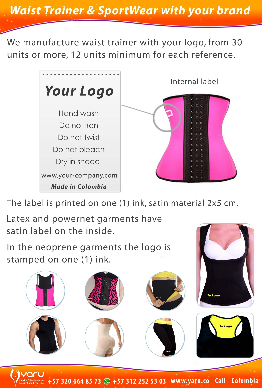 e9413d620e6 YARU Colombian waist trainer private label